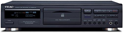 Teac CD-RW890MK2(B) HiFi CD Rekorder für CD-R/CD-RW Medien (ideal zum Überspielen, Aufnahme von Veranstaltungen, CD Player, Titelerkennungsfunktion, Synchronaufzeichnungsfunktion), Schwarz