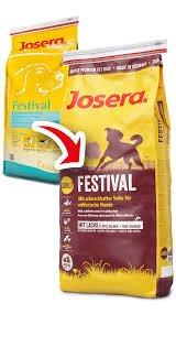 Josera 4 Proben Hundefutter Festival
