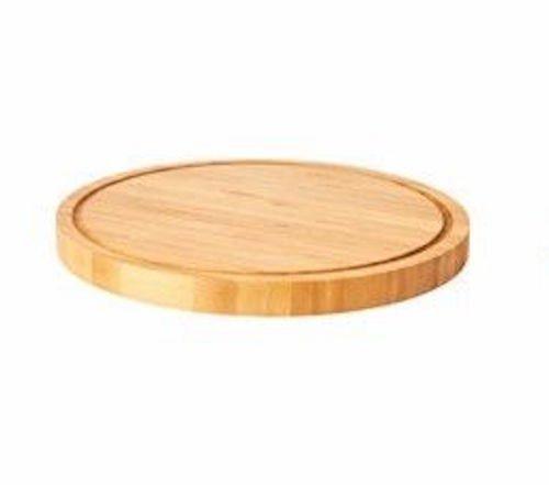 OLEBY–Schneidebrett–Bambus–Rund 23Cm–Ikea