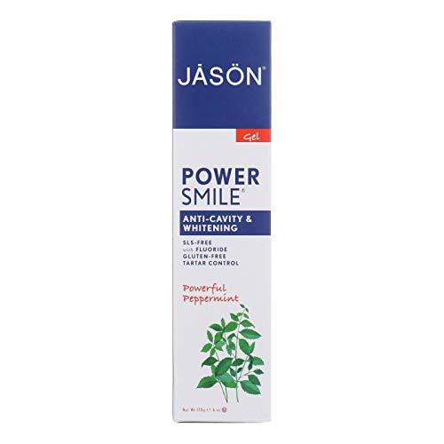 Jason Natural Powersmile Fluoride Free Whitening Toothpaste Pepper Mint