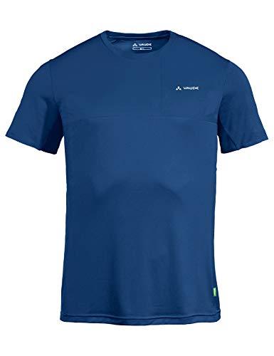 VAUDE Scopi II 41914 - Camiseta para Hombre (Talla XL), Color Azul Marino