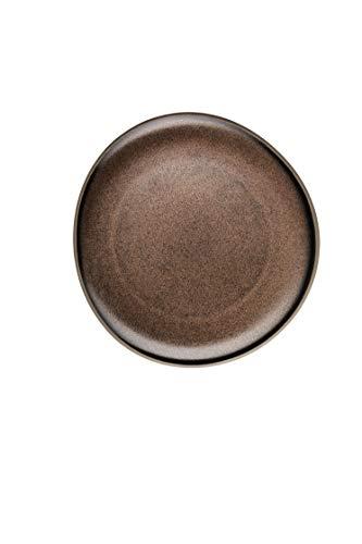 Rosenthal - Junto Bronze - Teller - flach - Steinzeug - Ø 22 cm
