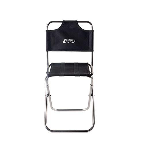 Chaise de Camping Chaise de Jardin Pliante pour extérieur, Banc, siège de Train Mini Tabouret Adulte pour Enfant Mazar (Couleur : D)