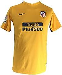 Nike Camiseta de Fútbol Atletico Madrid 2ª Amarilla 17/18 para Niño