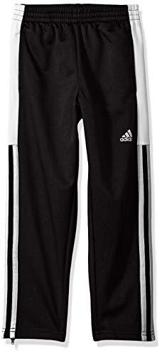 adidas Boys' Big Tapered Trainer Pant, Striker Black, Large