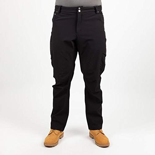 TRUEWERK Men's Winter Work Pants - T3 WerkPants Insulated Workwear, 32x32, Black