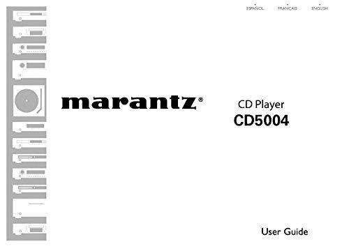 Marantz CD5004 CD Player Owners Instruction Manual Reprint [Plastic Comb]