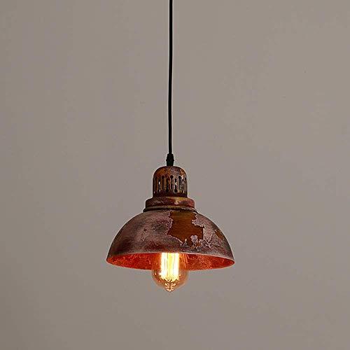 Art Shade Techo Colgando Luces Sala de estar Sala de estar Lámpara E27 Decoración de zócalo Araña Lámpara de techo AjustableAdroTro Simple Creativo Hierro Metal Colgante Luz Nostálgica Personalidad Hi