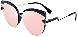 Sunglasses Fashion Accessories Fashion Sunglasses Polarizer Big Box Car Driver (Color : Pink)