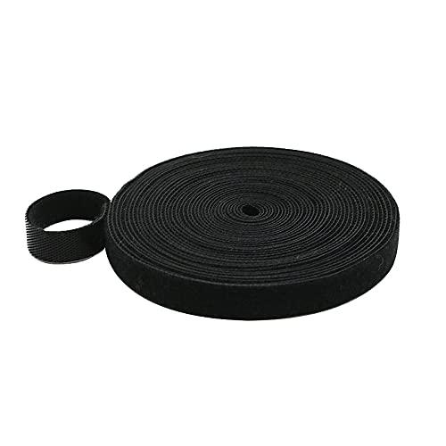 WALTTER Cinta de velcro para cables, 5 m, resistente a la abrasión...