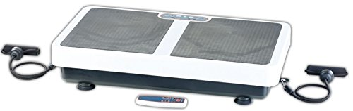 PEARL Vibration Platte: Extrabreite Vibrationsplatte WBV-199.OE mit Expandern, 200 Watt (Vibroplatte)