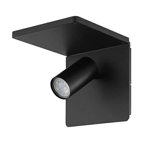 EGLO QI-Ladefunktion, damit können Qi-kompatible Smartphones kabellos geladen werden.