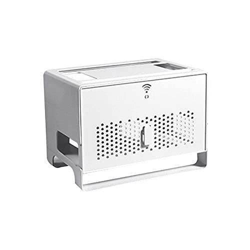 keleiesXD Extensión de Enchufe de Cable de Acabado Contenedor Organizador Enrutador WiFi Caja a Prueba de Suciedad de Gran Capacidad Reliable