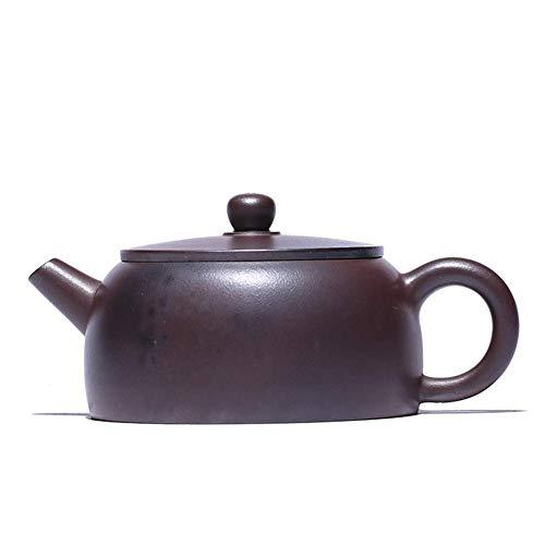 QGL-HQ Wang New minerai Yixing Théière argile pourpre pur bois de chauffage à la main ronde antique thé boîte-cadeau