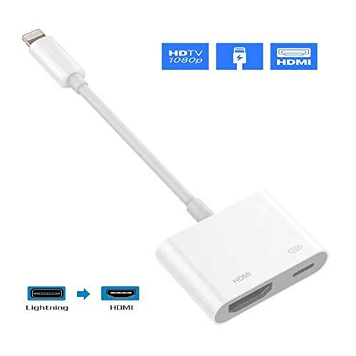 LENEN Compatible with iPhone HDMI to HDMI Adapter,1080P...