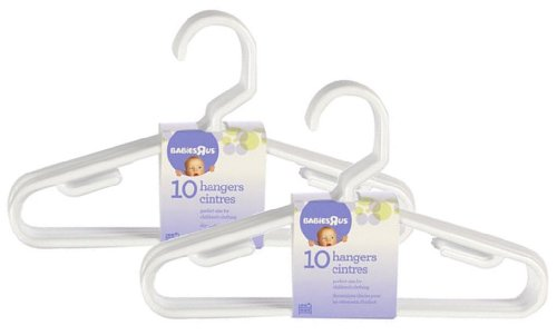 Babies R Us 20 Pack Hangers - White