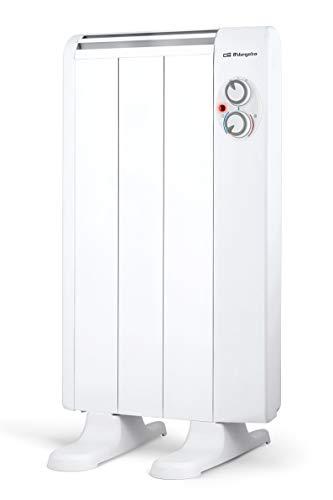 Orbegozo RRM 510 – Emisor térmico sin aceite, 3 elementos, 500 W, 2 niveles de potencia, color blanco