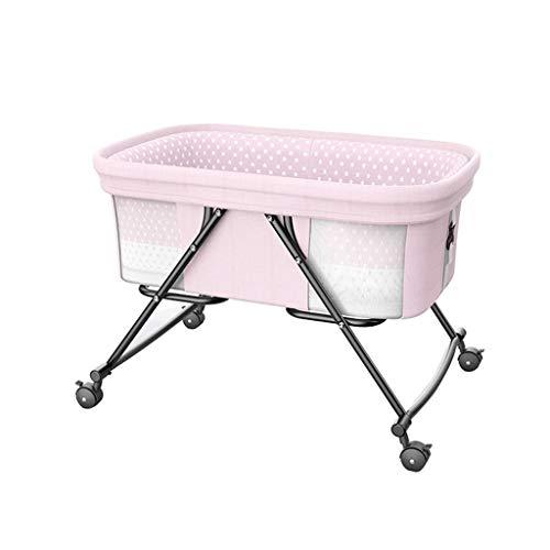 Buy VAIY Baby Cradle Hanging Baby Cradle Swing Folding Baby Cradle 94 X 92cm (Color : Pink)