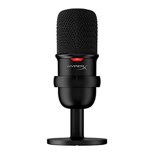 microfono pc gaming professionale HyperX SoloCast – Microfono USB a condensatore per Il Gaming da PC