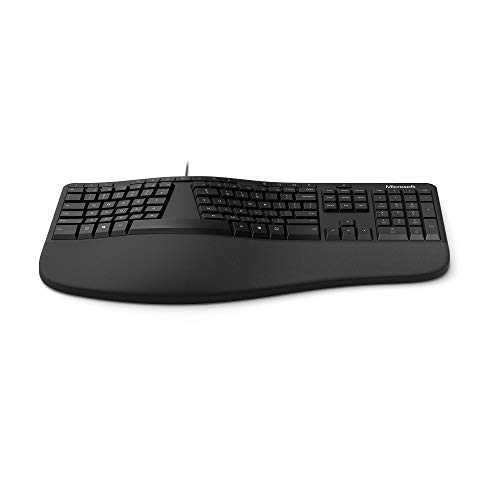 Microsoft Ergonomic Keyboard (deutsches Tastaturlayout, QWERTZ)