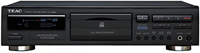 Teac CD Recorder, PLAYS & RECORDS CD, CD-R, and CD-RW Discs with Free Remote Control Included