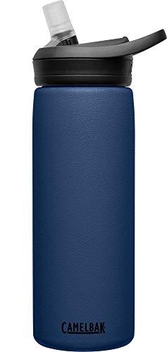 CAMELBAK Unisex's eddy+ SST Vacuum Insulated Bottles, Navy.6L / 20 oz