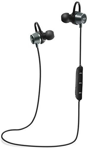 XIDO KI Bluetooth Auriculares Sport Agua – Auriculares in-ear Bluetooth 4.1 Inalámbrico Estéreo Deporte Auriculares Correr Auriculares Wireless Auriculares Auricular con micrófono