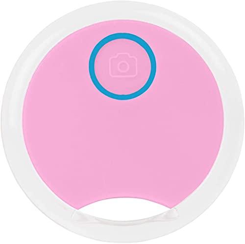 FENGLISUSU Dispositivo de rastreo de GPS de Mini Perro, bandejo portátil Redondo Bluetooth Mini antilost a Prueba de Agua Bluetooth Tracer, Finder del artículo GPS para teléfono/Llave/de lugga