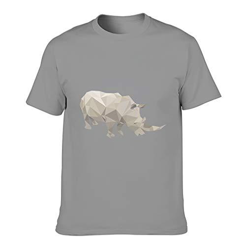 Camisetas de algodón para hombre - Personalizables Gris oscuro. XXXXXXL