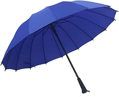 Regenschirm Automatik 16 Zoll langer Griff im Freien doppelt ultra light Anti-Air-benutzerdefinierte Werbe-Regenschirm,E