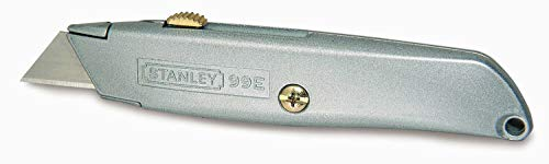 "Stanley 1-10-099 Knife""99E"" with retractable blade, Silver"
