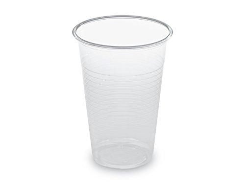 GUILLIN gm23pt cartón Vaso Manual translúcido Contenance 18/20CL, plástico, Transparente, 7x 7x 9,6cm