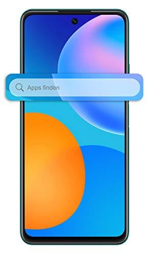 HUAWEI P smart 2021 Dual SIM Smartphone (16,94 cm - 6,67 Zoll, 128 GB interner Speicher, 4 GB RAM, Android 10 AOSP ohne Google Play Store, EMUI 10.1) crush green + 5 EUR Amazon Gutschein - 2