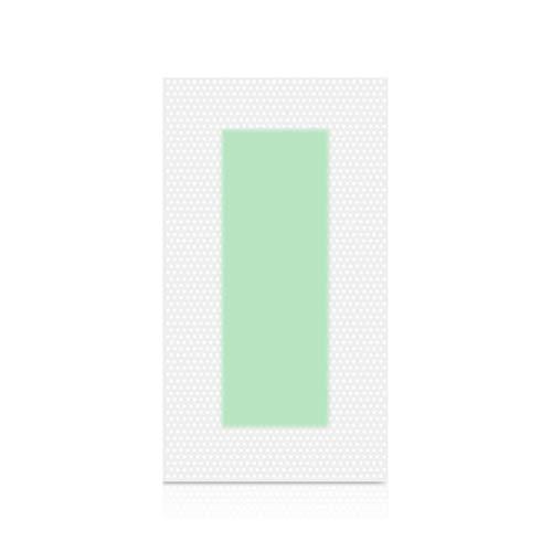 Sunnyflowk Professional Hair Removal Wax Strips Leg Body Depilatory Wax Paper (Green)