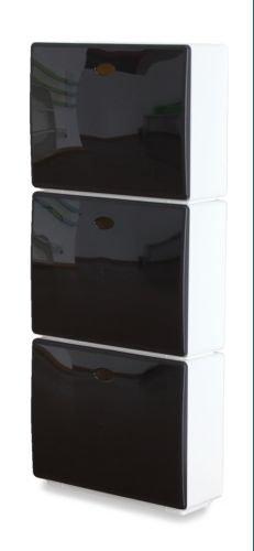 Jobgar - Zapatero 3 Cajones Tris Colors Negro Tri901Bi