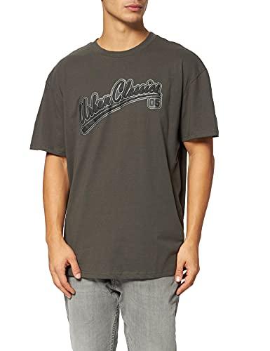 Urban Classics Herren Baseball Tee T-Shirt, Blackbird, 3XL