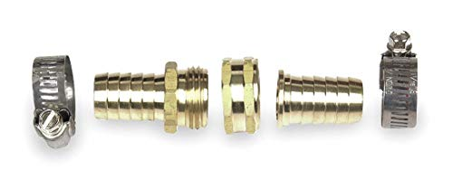 Brass Hose Repair Kit, 3/4' GHT Connection - pack of 5