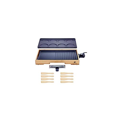 CONTINENTAL EDISON PC1500BB Plancha Gril Crepe party - 1500W