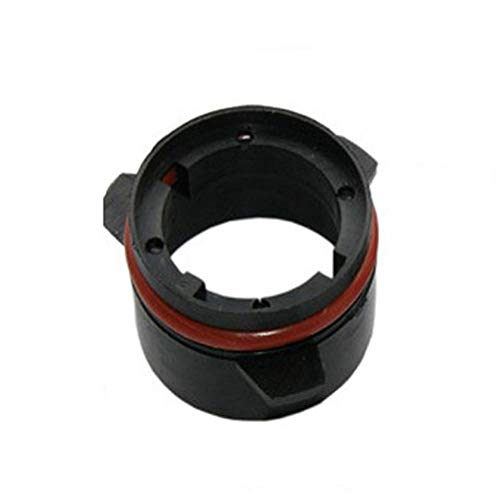 Alto Rendimiento Base D2S for la Bombilla del Faro HID D2 de conversión de los titulares de los adaptadores for BMW E39 D2 xenón Retenedor de Adaptador (Color : Black)