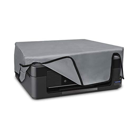 kwmobile Hülle kompatibel mit Epson Expression XP 255-455 - Drucker Staubschutzhülle Schutzhaube Schutzhülle - Hellgrau