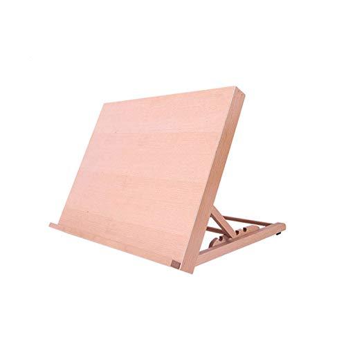 Caballete de escritorio Caballete de mesa Tablero de dibujo Ajustable A3, A2 Caballete de mesa de escritorio Estación de...