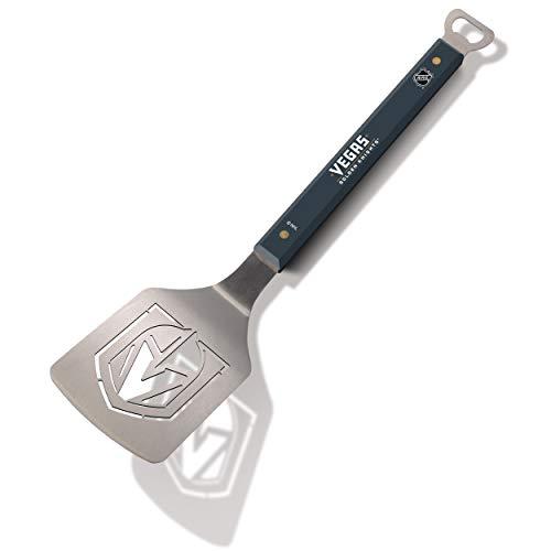 YouTheFan NHL Vegas Golden Knights Spirit Series Sportula Stainless Steel Grilling Spatula , 18 1/2' x 4'