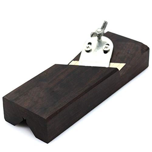 Preisvergleich Produktbild Fasenhobel,  45 Grad Ebenholz Einstellbarer Winkel Ebenholz Block Flugzeug mit Klingen Hand Hobel Werkzeug für Cutter Carpenter DIY Holzbearbeitungswerkzeug