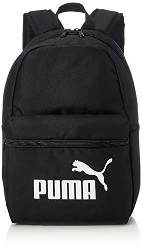 PUMA Phase Small Backpack Mochila, Unisex niños, Black, OSFA