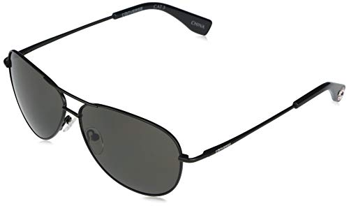 Converse Men's H112 Aviator Sunglasses, Black, 60 mm