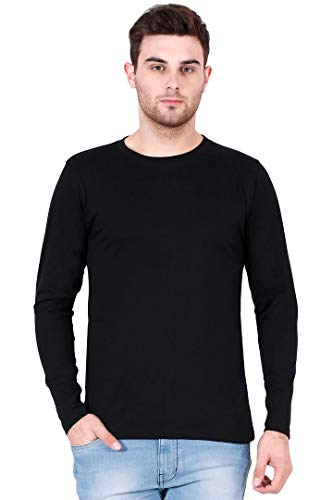 RSO Outfits Men's Cotton Full Sleeves Plain T-Shirt