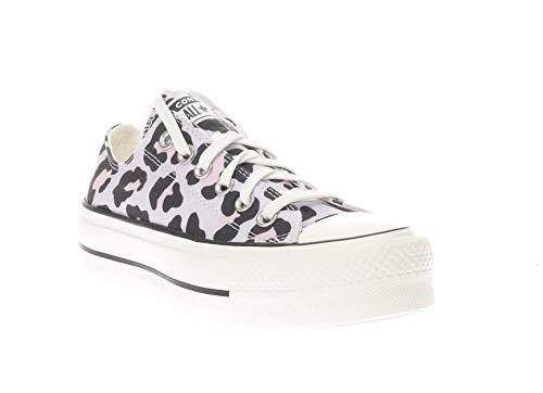 Converse Sneakers Donna Mod. 568003C Bassa Vintage White Lilla 35