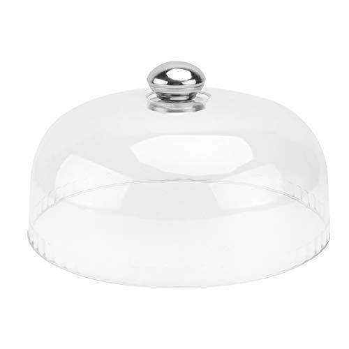 UPKOCH Campana de cristal para tartas, campana de cristal, campana de cristal,...