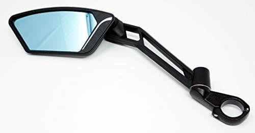 CBK-MS Luxus Rückspiegel mit Sicherheitsglas und Antireflexbeschichtung Lenker Spiegel für Pedelec Fahrrad E-Bike Speed Pedelecs