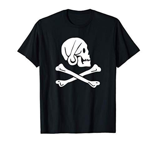 Jolly Roger Henry Every Pirate Bandiera Maglietta